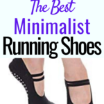 Trail minimalist running shoes