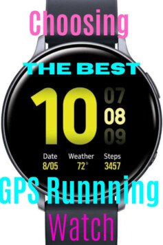 Choosing the best GPS running watch